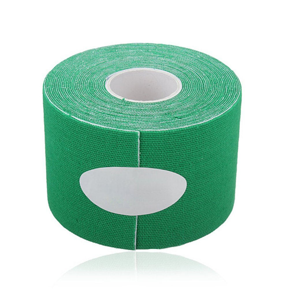 Da.Wa Kinesiology Elastic Tape Rope Sports Physio Muscle Strain Injury Care Tape Rope 5M5cm Green