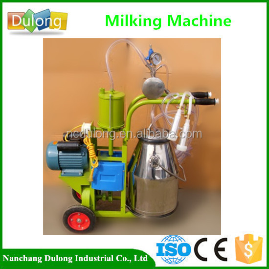Wholesale price portable milking for goats production 8-10 goats/h