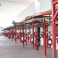 High-quality automatic powder coating line for electrostatic coating