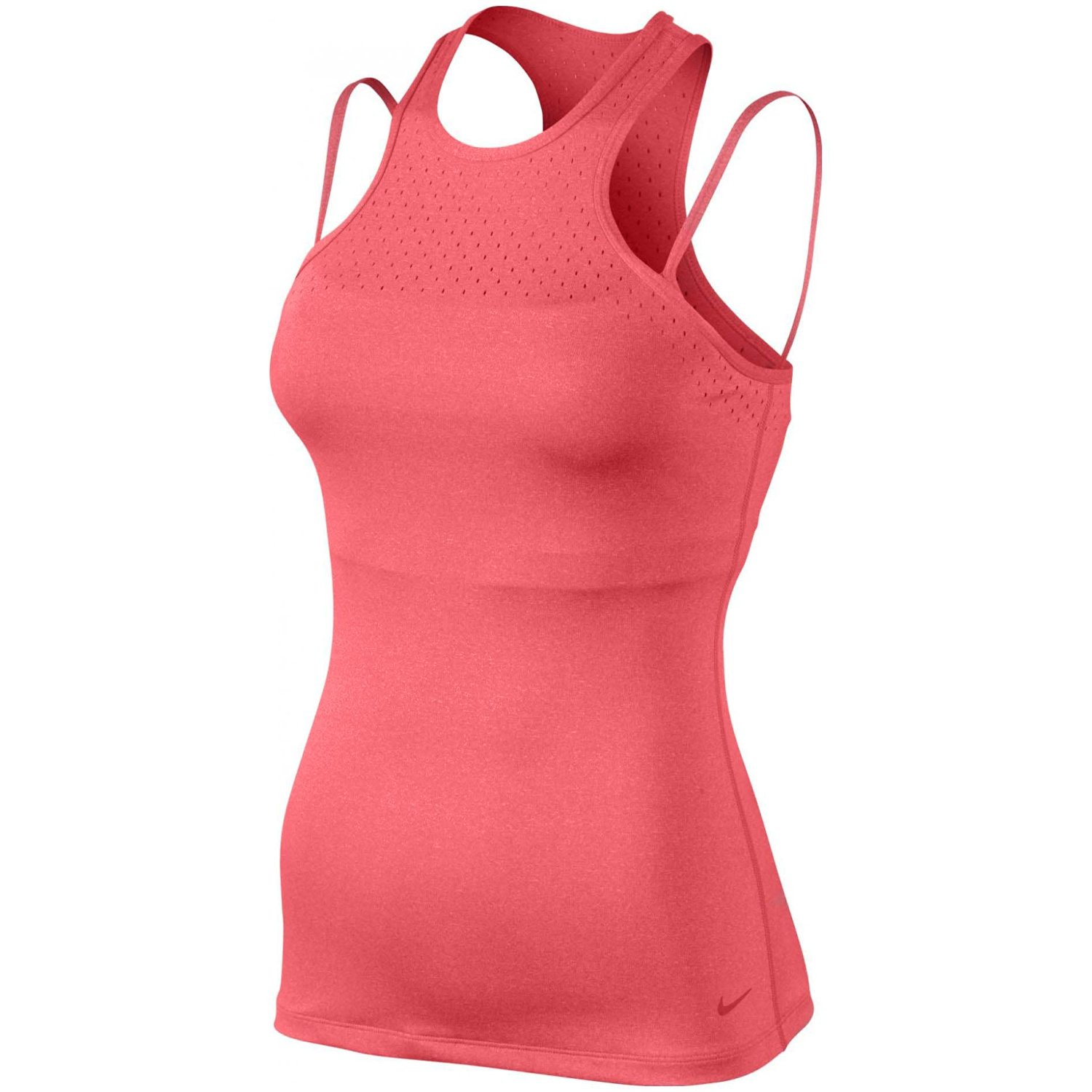 ec8b6eaf9aa2d Get Quotations · Nike Women's Dri-Fit Racerback Tank Top With Support Bra  medium