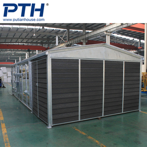 Ready steel structure prefabricated houses modular kit garage warehouse