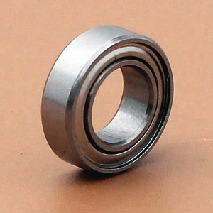 Miniature Double Metal Shielded Stainless Steel ball Mini bearings MR137ZZ Bearing 13x7x4 mm