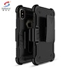 Mobile phone accessories new fit kickstand case for iphone x,for iphone x case hybrid, for iphone x tpu pc case