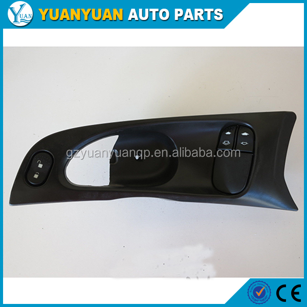 guangzhou auto parts 7S4T14529AA YS4T 14529 AA green 6pin power window switch for for d focu s 2000 - 2007