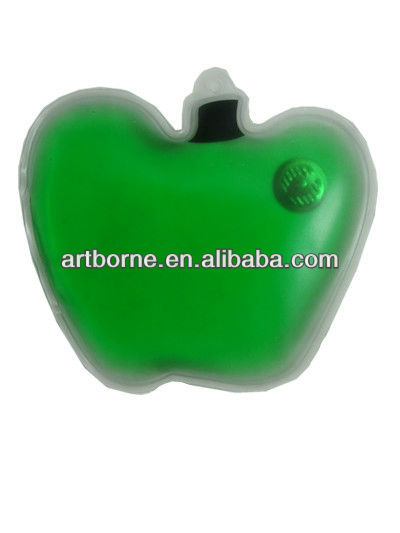 Artborne Apple Shape Novely Pocket Hand Warmer new products for 2012(CE/FDA /MSDS approved)