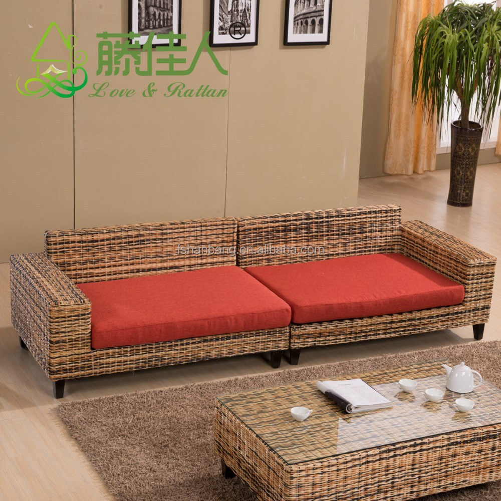 China Fabrica Indonesia Real Natural Rattan Mimbre Muebles Sof  # Cif Muebles La Fabrica