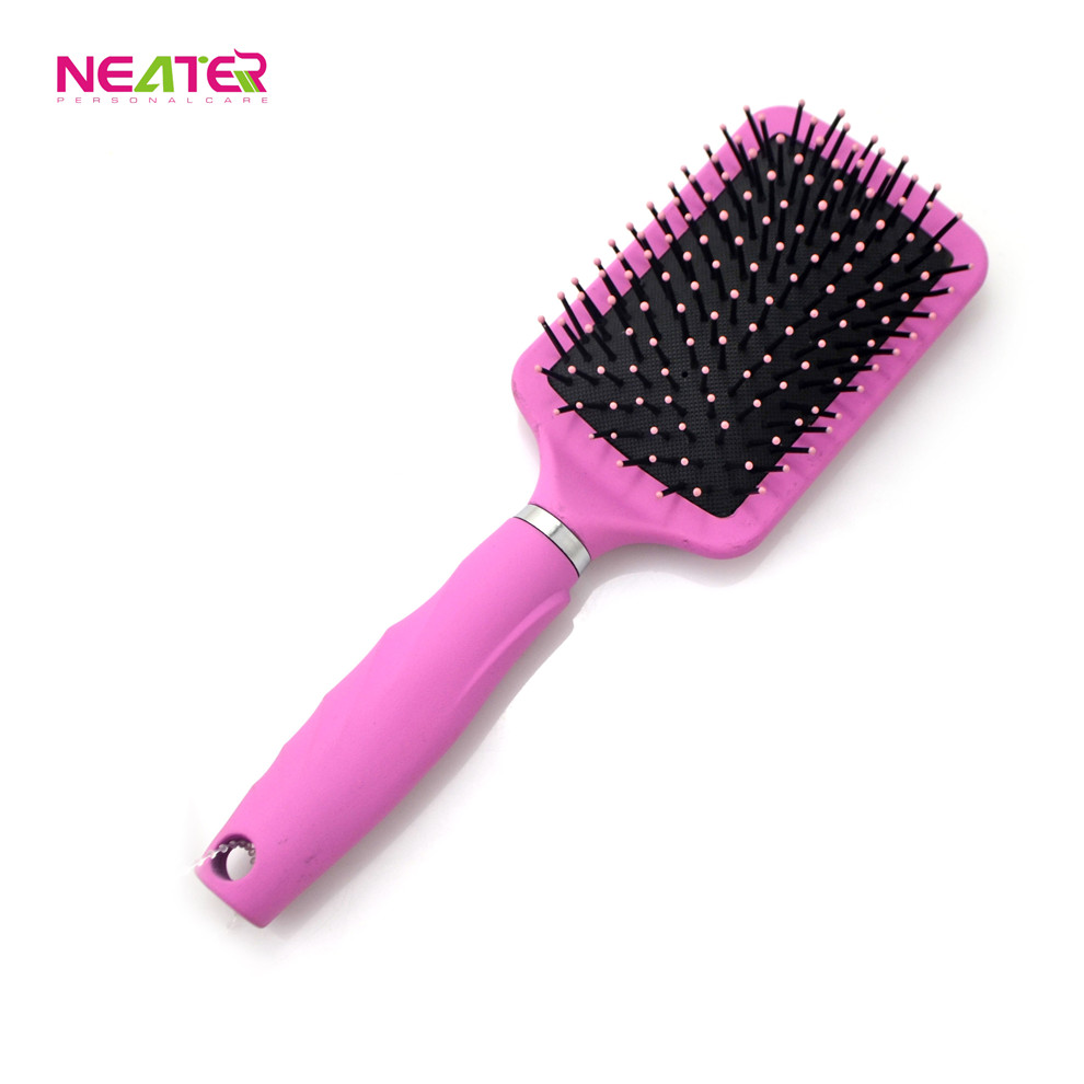 soft touch salon care and professional massage cushion hair brush wholesale