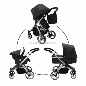 2017 most fashion 3 in 1 baby buggy pretty baby stroller