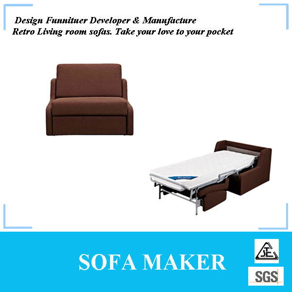 Modern single sofa bed bedroom furniture MY143