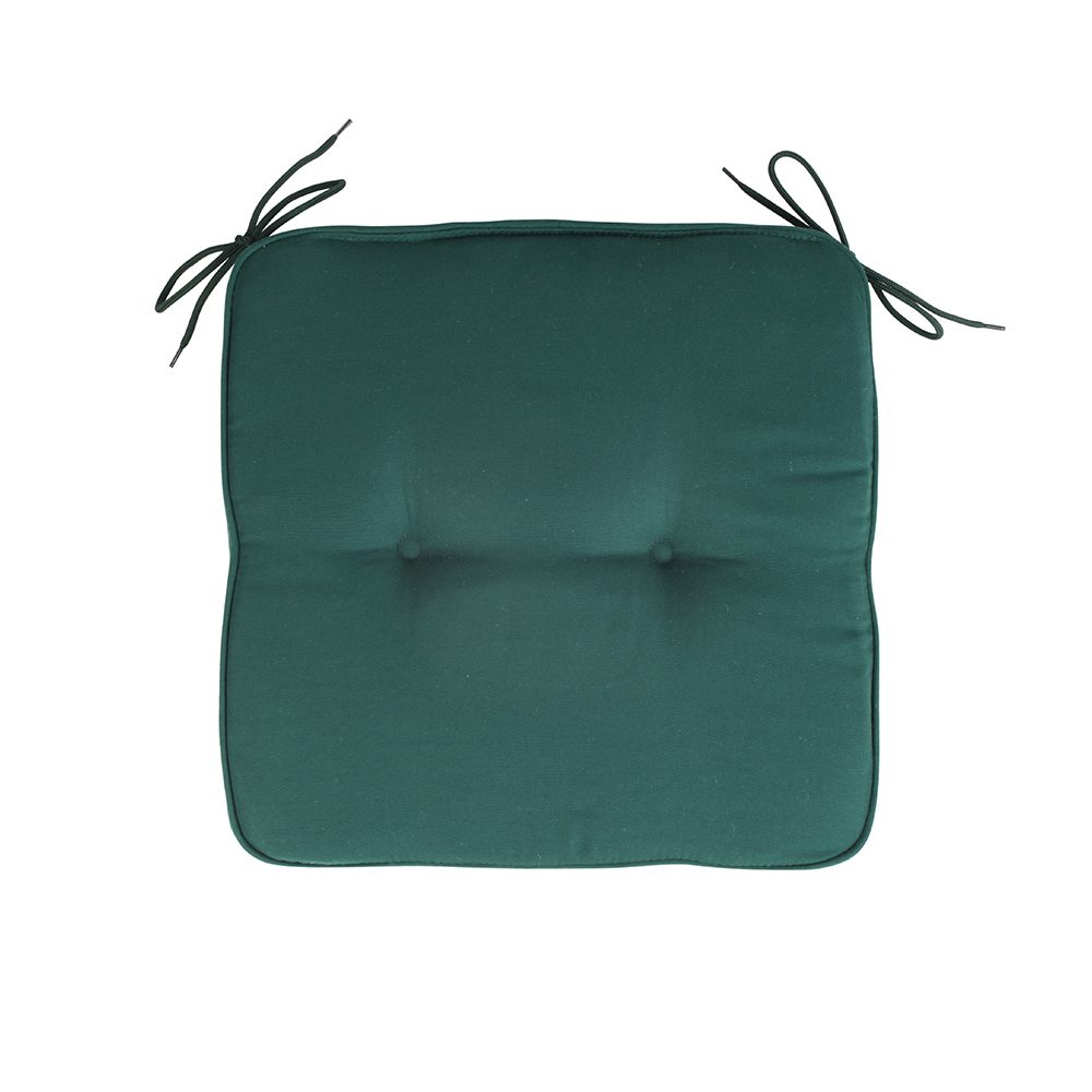 Promotional Poly Cotton chair cushions seat pad Dining Chair Cushion 40 x 40