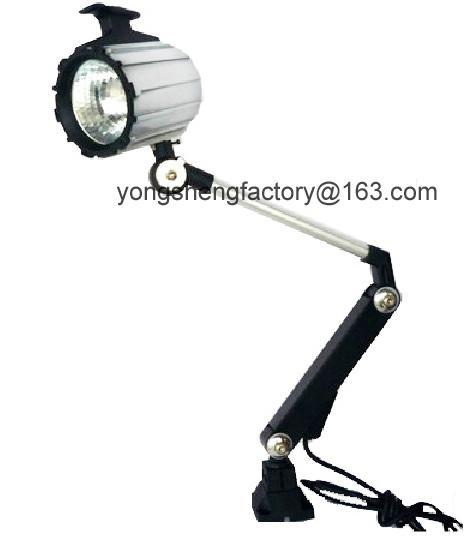 Industrial Halogen Light Bulbs: Aluminum Long Arm Halogen Machine Lamp Light/24V 220V