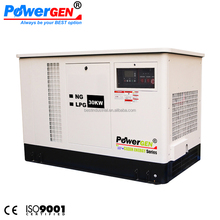 POWERGEN Silent Liquid-Cooled LPG/NG Standby Home Backup Generator 30KW