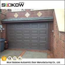Fast shipment steel side corner sliding 2017 panel lift garage door