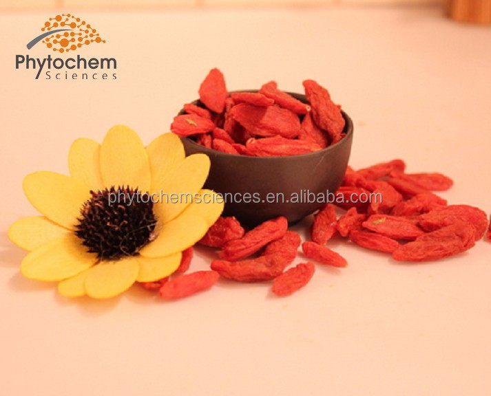 Organic Goji Berry Extract Powder 40% Polysacchrides Soluble in water