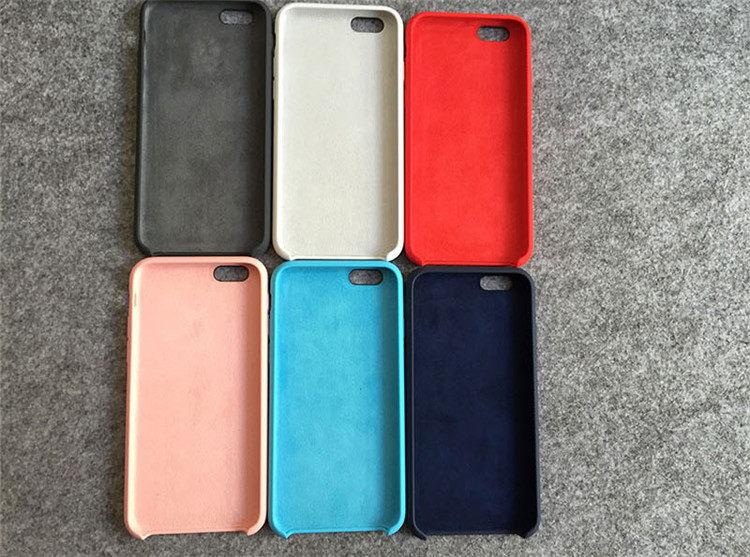 9342152f3f6 Hot selling Plain silicone case, soft phone case for iphone case silicone  original