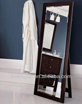 Home Goods Decorative Full Length Free Standing Black Dressing ...