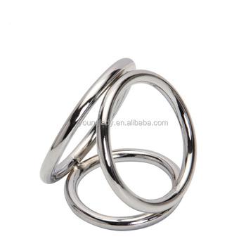 anillo acero pene