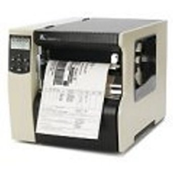 "Zebra Technologies 223-801-00100 Series 220XI4 8"" DT/TT Tabletop Printer, 300 dpi Resolution, RS-232 Serial/Parallel/USB 2.0/Internal Zebra Net 10/100, 16 MB with ZPL II/XML, Cutter with Catch Tray"