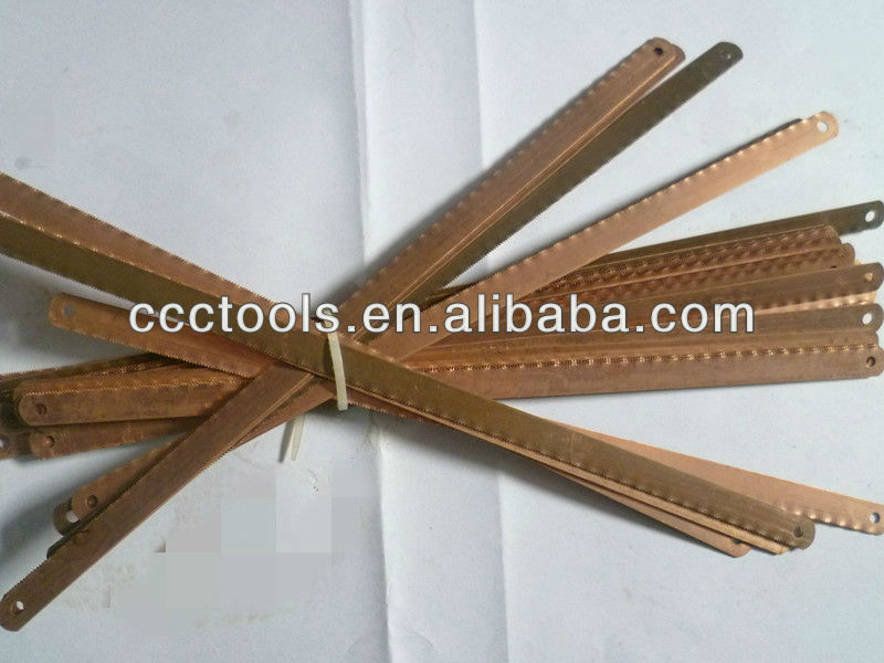 explosion proof hacksaw balde , beryllium copper hacksaw blade with hole