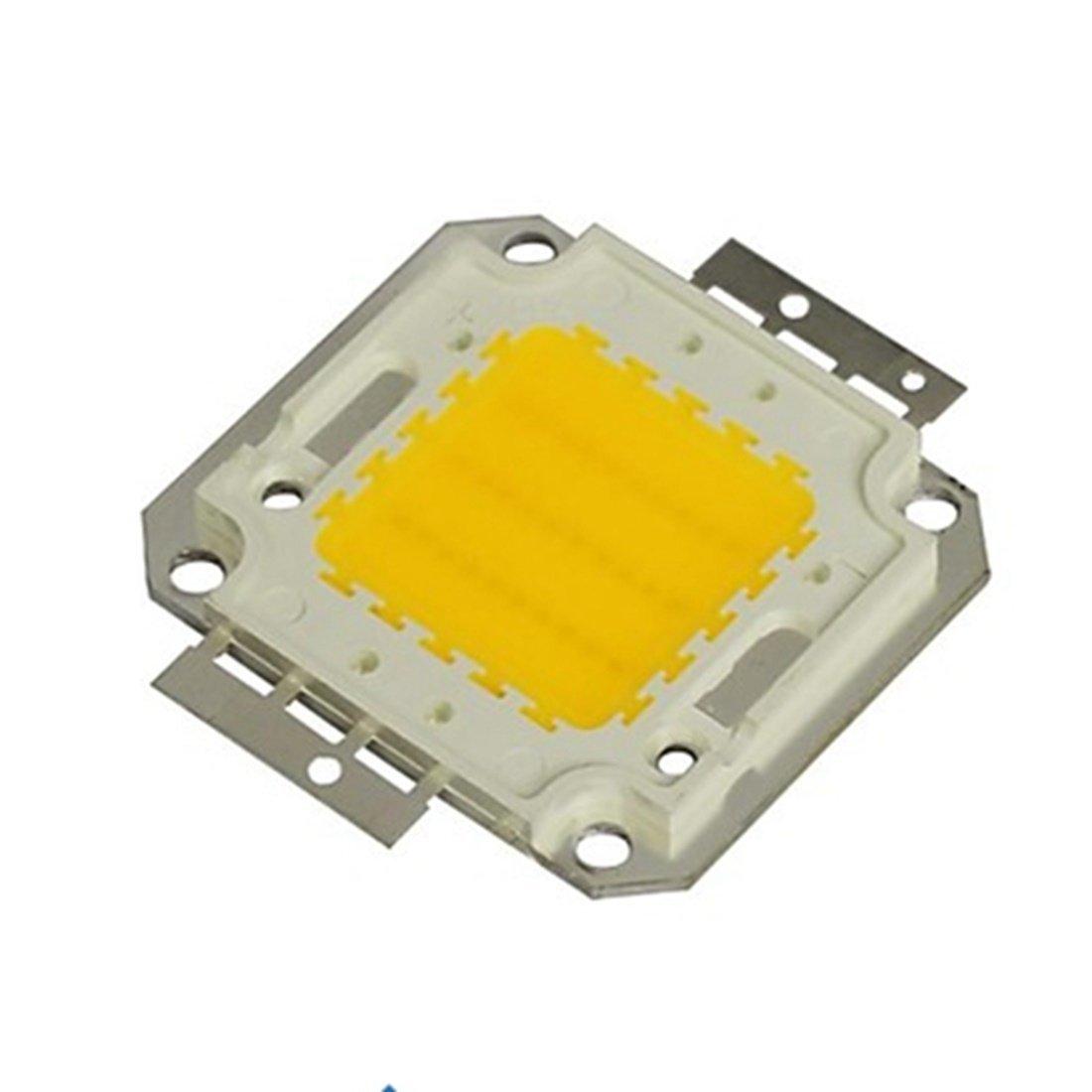 SRY-LED Bulbs High Power LED Chip Beads COB Beads 20W 30W 50W 70W 100W 3000K/6000K For Floodlight Spotlight Energy saving (Color : Warm white, Wattage : 30W)