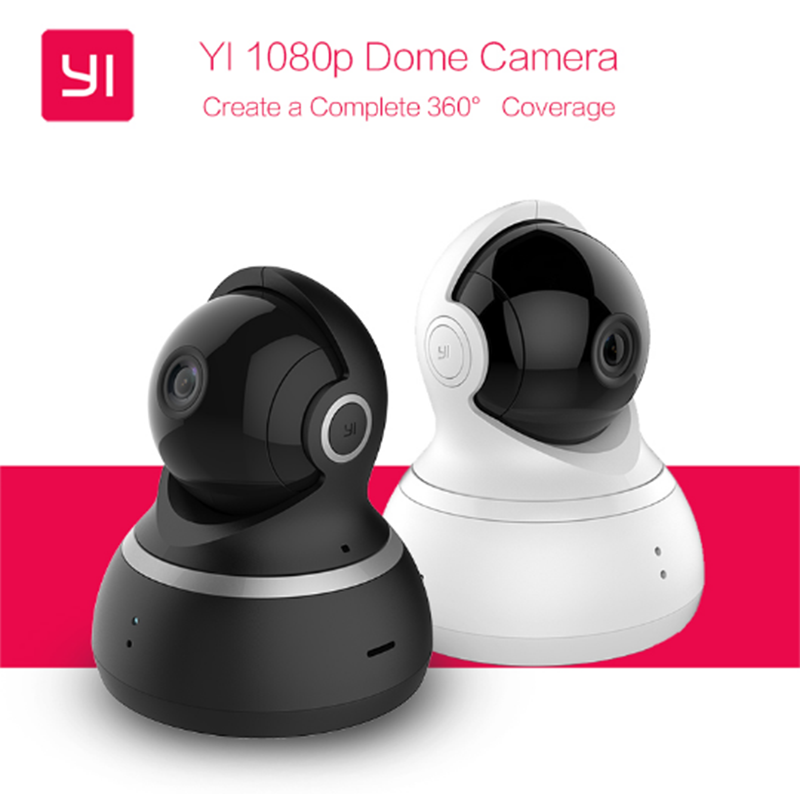 International Edition Xiaomi Yi Dome Camera 1080P FHD Home Security Monitor