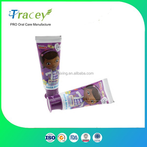 75ML / 100g KIDS children baby Cheap private label fruit flavor toothpaste