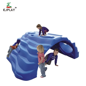 New Products Kids Entertainment Indoor And Outdoor Plastic Rock Climbing Wall