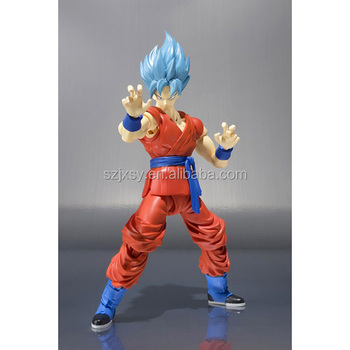 Dragon Ball Z Gambar Super Saiya Goku Banteng Rambut Resin Model
