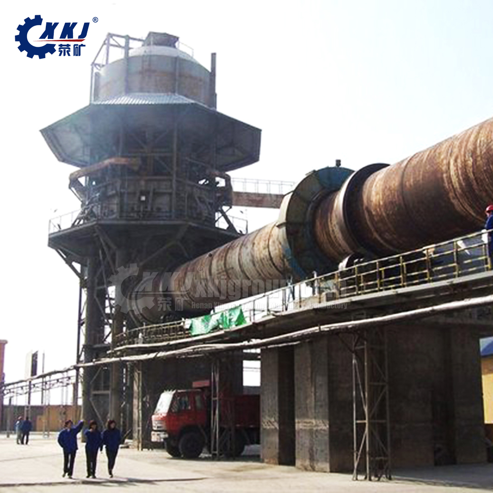 Cheamical Pyrolysis Rotary Kiln Calcined Dolomite Price For Cement Plant
