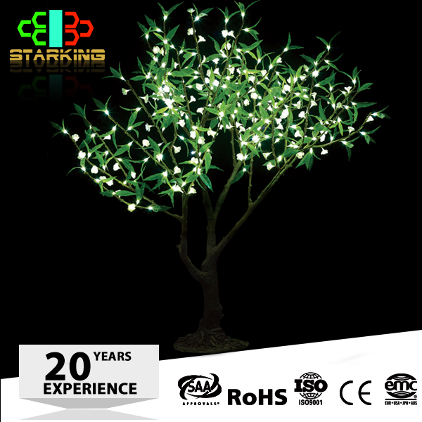 LED artificial cherry blossom led fake tree outdoor led maple leaf tree