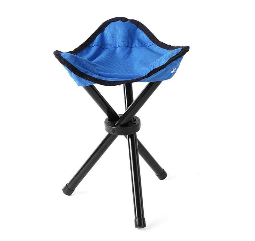 Onfly Trumpet Three-legged Stool,Outdoor Folding Chair,Ultralight Portable Collapsible Camping Stool,Multifunctional Stool,Beach Fishing Chair Stool Park Outdoor Rest Furniture