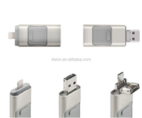 New products 2016 otg usb 3.0 flash drive for ios 9 mobile phone custom otg usb flash drive