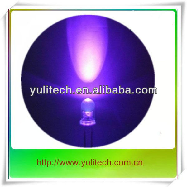 365nm 375nm uv led light 5mm