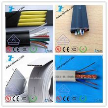 Lift parts 4x1.5mm crane pendant cable hydraulic elevator cost