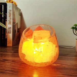 Custom logo Himalayan Modern Obelisk Crystal Rock Salt Lamp For Air Cleaning Hand Carved With Cord And Bulb Oem Packing