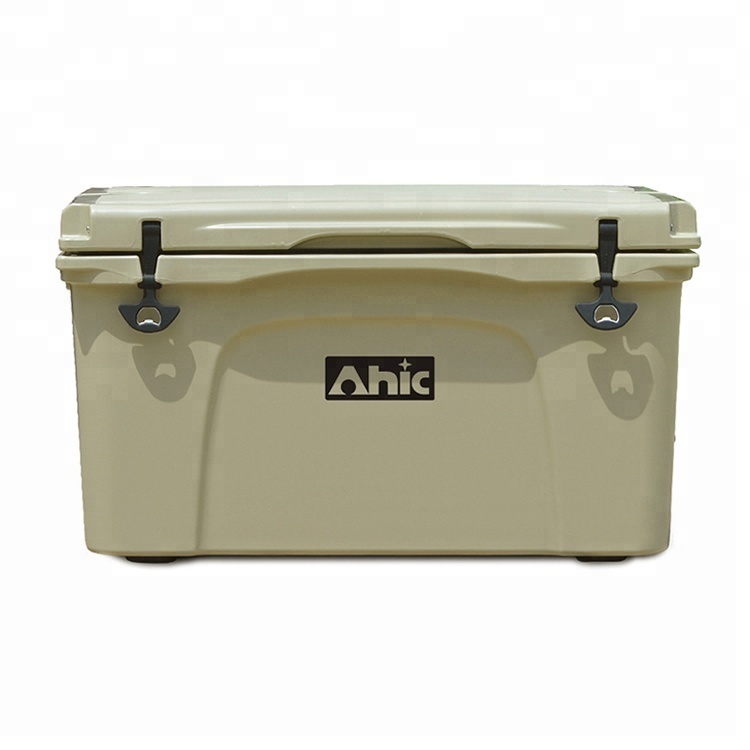 Camping 65L PE Plastic Insulated Cooler Ice Chest