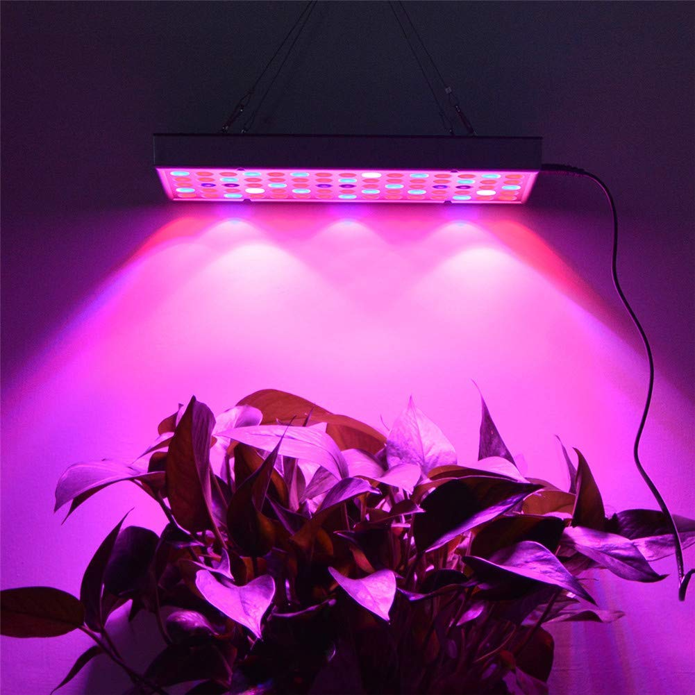 LED Grow Lights Full Spectrum, LED Plant Light for Indoor Plants, AIMENGTE 25W 75 LEDs IR UV Lamps Hydroponic System Lighting for Indoor Garden Greenhouse Veg Flower Seeds Plants Growing.
