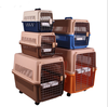 Plastic Dog Transport House & Box & Cage