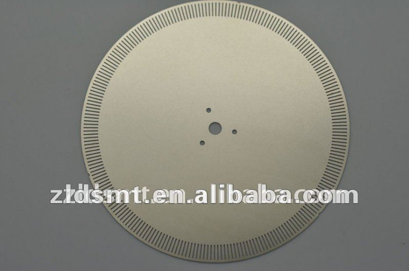 metal optical encoder disks