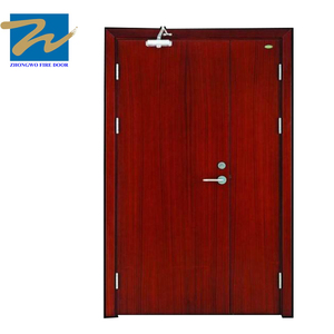 China supplier Ul 20min Hotel Fire Rated Proof Wood Flush Door