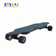 90mm wheel dual hub 1200W motor led 100% canadian maple electric skateboard for sale MW longboard black coating