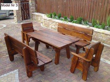 Mobili rio de jardim de madeira para restaurantes for Mobiliario 2 mao