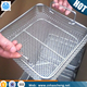 stainless steel bicycle medical wire mesh basket perforated basket