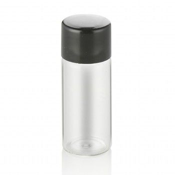 cosmetic packaging tube 5ml 8ml 10ml clear round tube glass bottle perfume bottle