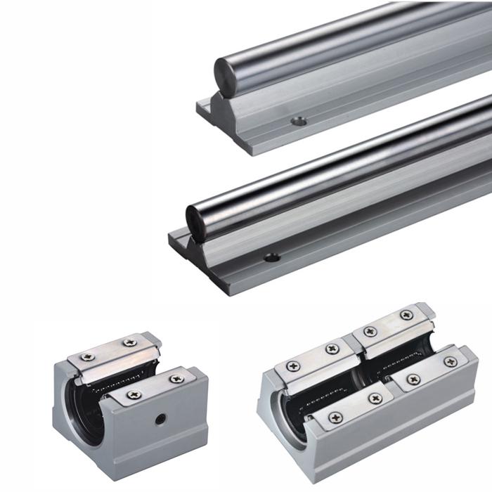ZNZ Linear Aluminium Shaft Bearing Housing