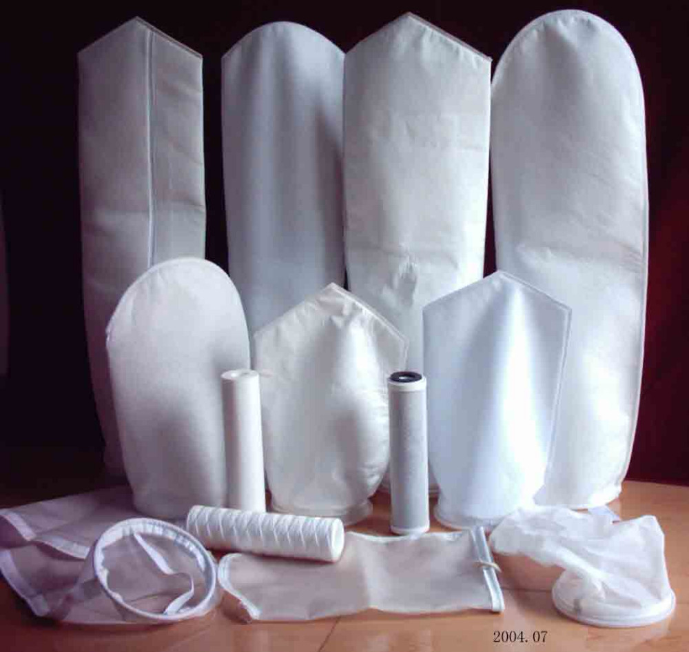 Factory supplied 200 Micron to 1 Micron Nylon, Polypropylene, Polyester Filter Bags for Beer Filtration