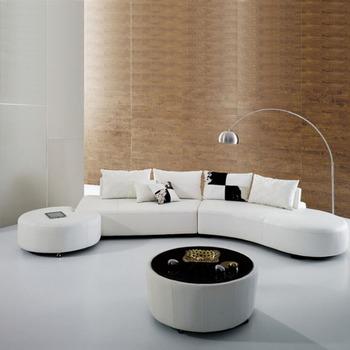 Modern Arc Half Moon Shape Sofa Designs Leather Half Moon Sectional Sofa Half Round : half moon sectional sofa - Sectionals, Sofas & Couches