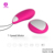 S-HANDE OEM Factory remote wireless 9 high speed g-spot pink love egg vibrator sex toy for woman