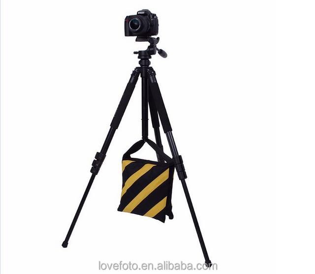 1PC Black Counter Balance Sand Bag for Photo Studio Light Stand Boom Arm,Super Heavy Duty Sandbag Saddlebag Design,Weight Bags