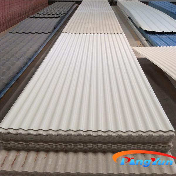 Light Weight Pvc Corrugated Panel Pvc Roofing Sheet Pvc